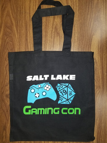 Salt Lake Gaming Con Canvas Tote Bag