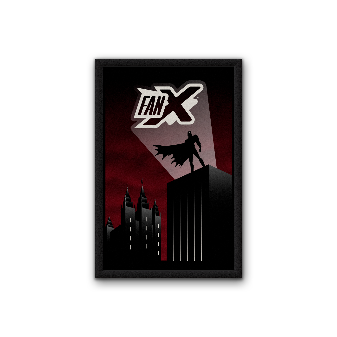 Limited Edition Salt Lake Dark Knight Poster