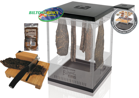 Biltong King & Bamboo Cutter Pack