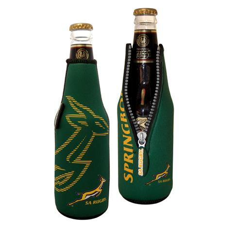 The Springboks Zip Bottle Cooler