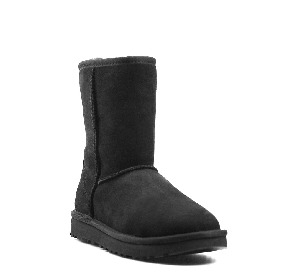 UGG Classic Short II Boot in Black - UGG - On The EDGE