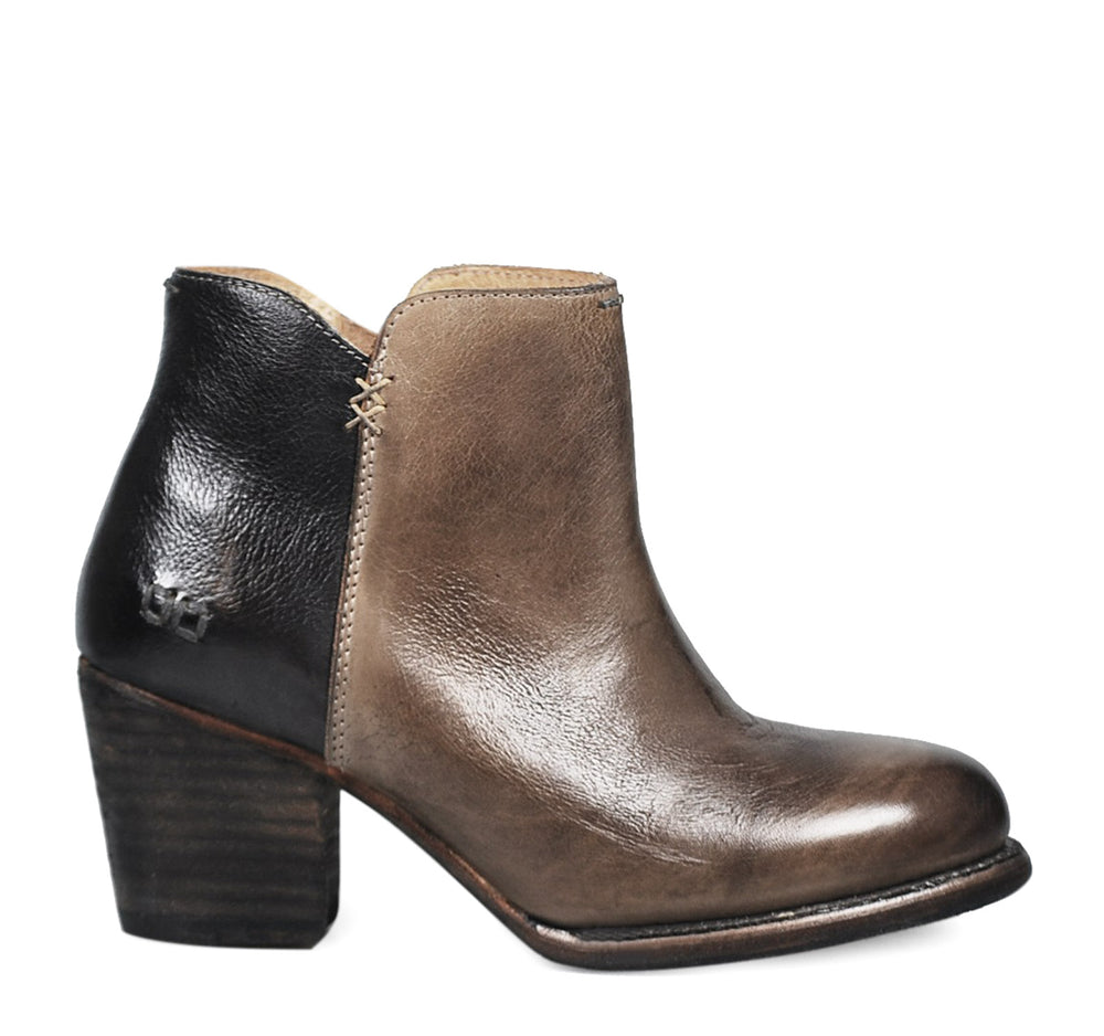 Bed Stu Yell Women's Ankle Boot in Smoke Grey and Black - Bed Stu - On The EDGE