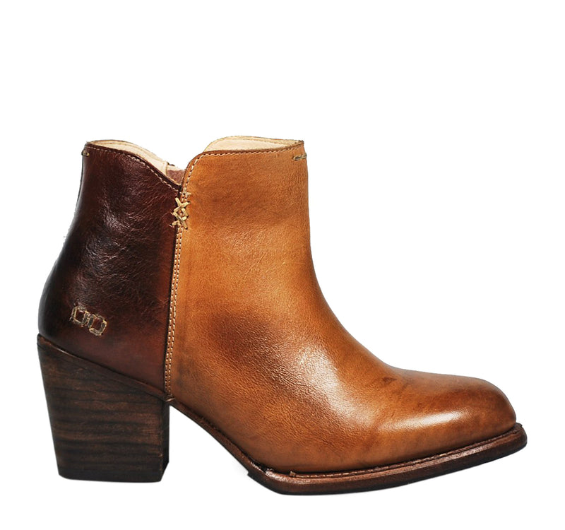 Bed Stu Yell Women's Ankle Boot in Tan Teak Rustic - Bed Stu - On The EDGE