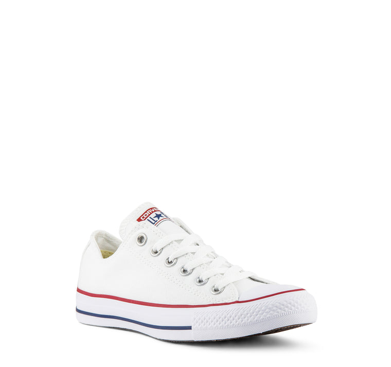 Converse Chuck Taylor All Star Low Top Kids Sneaker in Optic White - Converse - On The EDGE