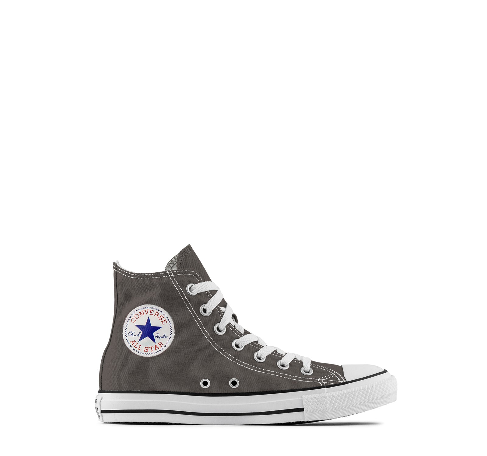 31ee823a7dc3 Converse Chuck Taylor All Star Hi Top Kids Sneaker in Charcoal - Converse -  On The ...