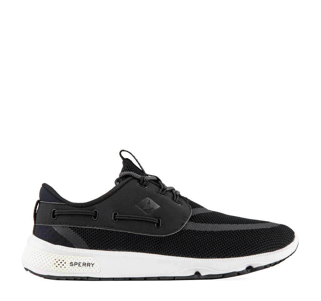 Sperry 7 SEAS 3-Eye Sneaker in Black - Sperry Top-Sider - On The EDGE