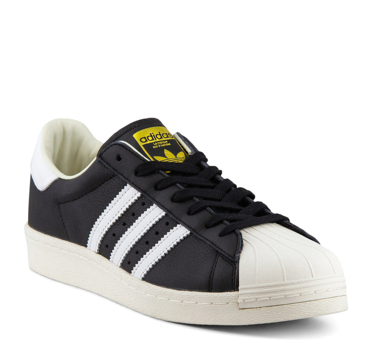 Adidas Superstar Boost BB0189 Men's Sneaker in Black/White/Gold - Adidas - On The EDGE