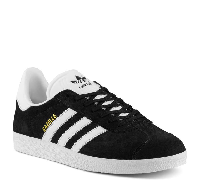 Adidas Gazelle BB5476 Men's Sneaker in Black and White - Adidas - On The EDGE