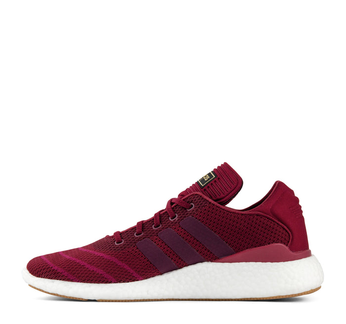 Adidas Busenitz Pureboost PK CQ1159 Men's Sneaker in Burgundy - Adidas - On The EDGE