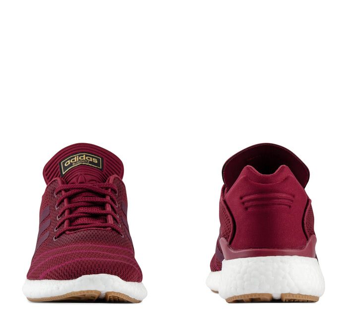 Adidas Busenitz Pureboost PK CQ1159 Men's - Burgundy - Adidas - On The EDGE