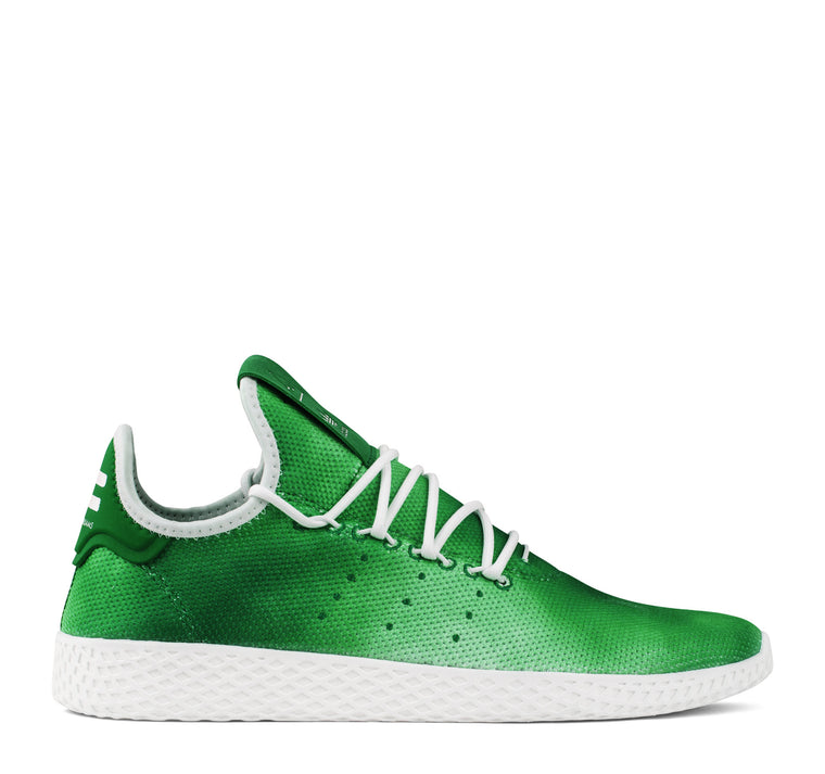 Adidas Pharrell Williams Tennis Hu DA9619 Men's Sneaker in Green
