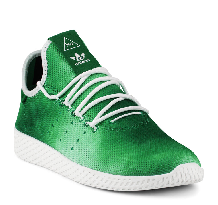 Adidas Pharrell Williams Tennis Hu DA9619 Men's Sneaker in Green - Adidas - On The EDGE