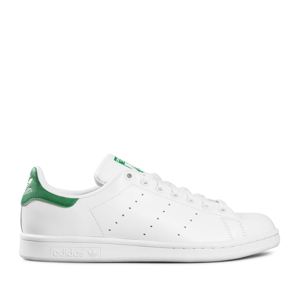 Adidas Stan Smith M20324 Sneaker in White and Green - Adidas - On The EDGE