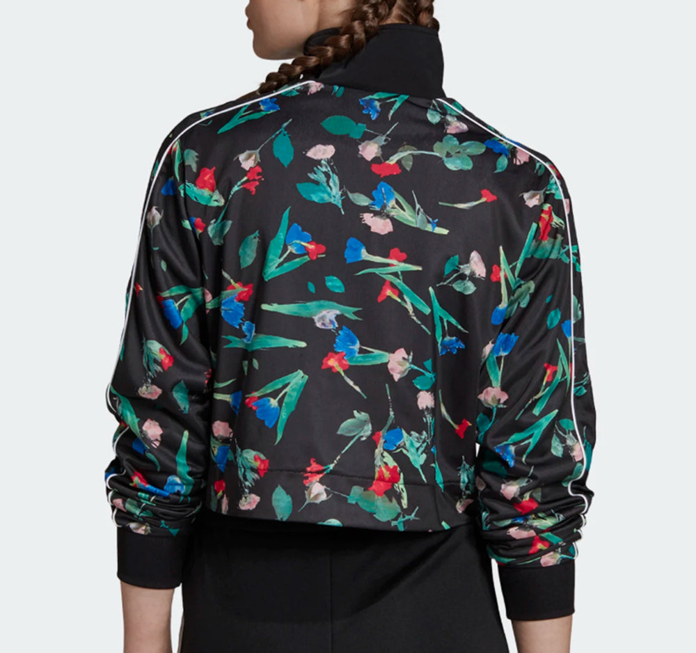 Adidas Bellista Allover Floral Print Jacket