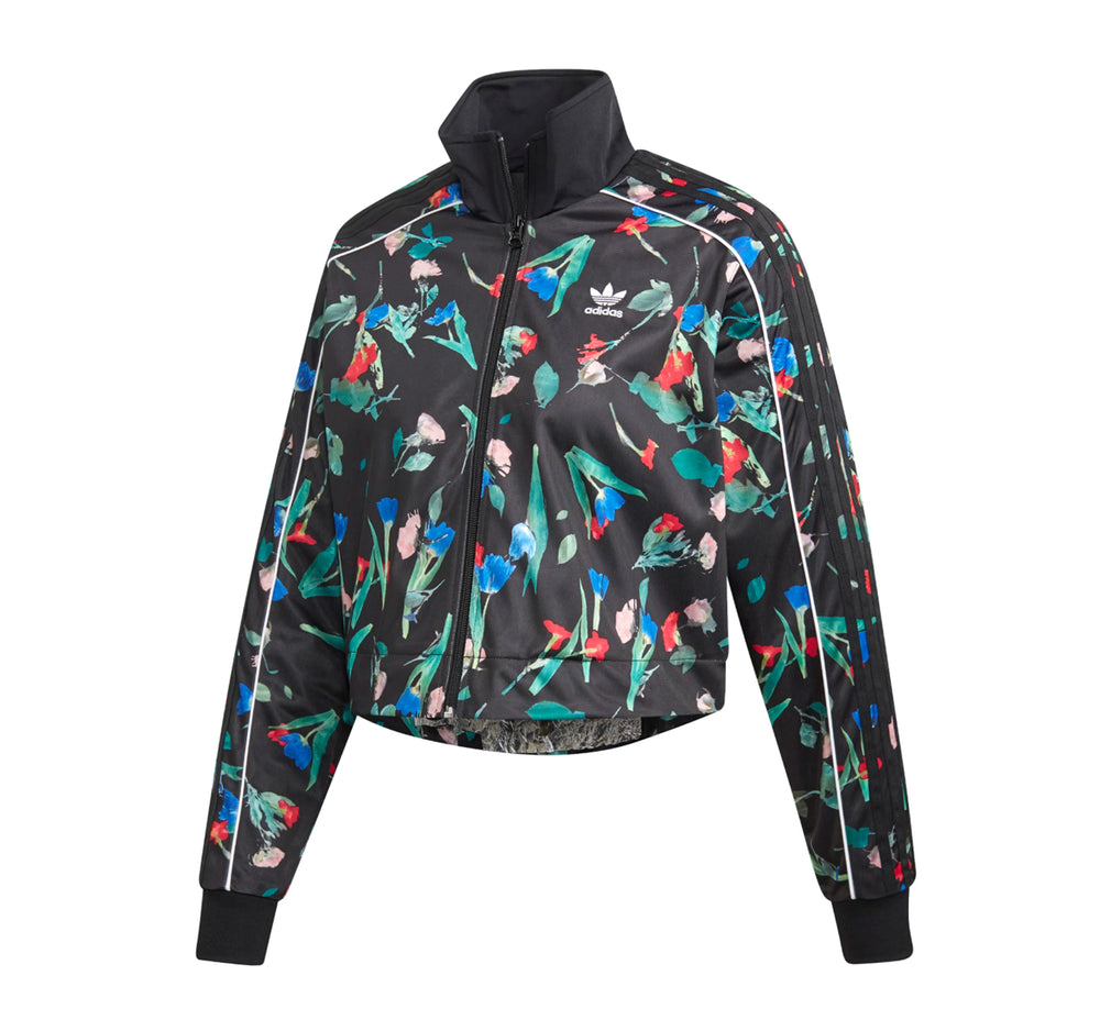 Adidas Bellista Allover Floral Print Jacket - Adidas - On The EDGE