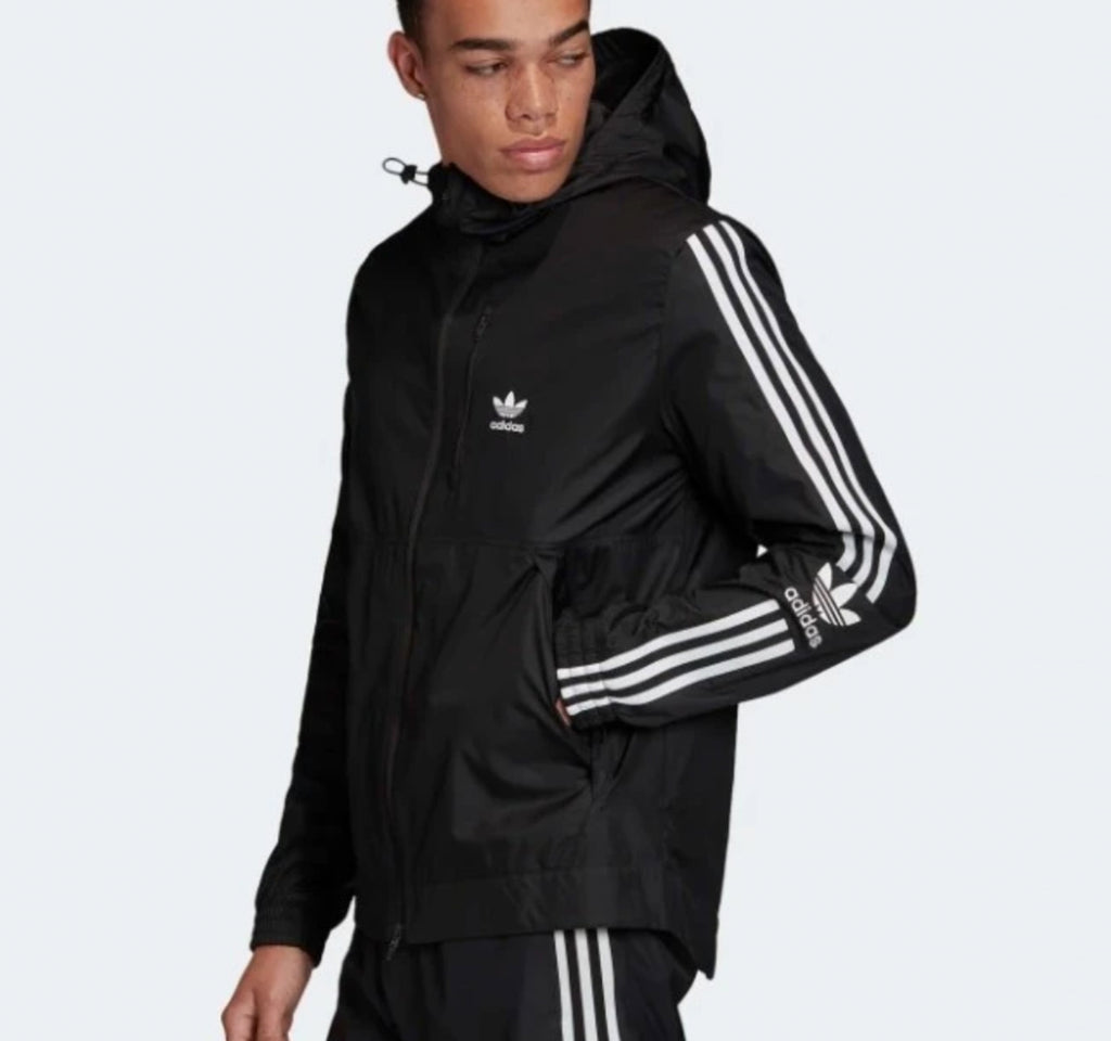 Adidas Lock Up Men's Windbreaker Jacket - Adidas - On The EDGE