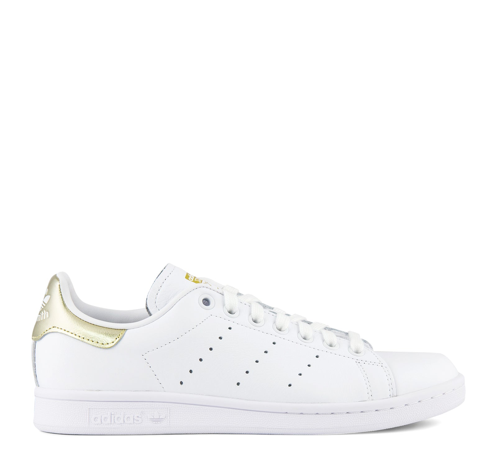 best service 7427b 82c1a Adidas Stan Smith W EE8836 Women's Sneaker in White and Gold ...