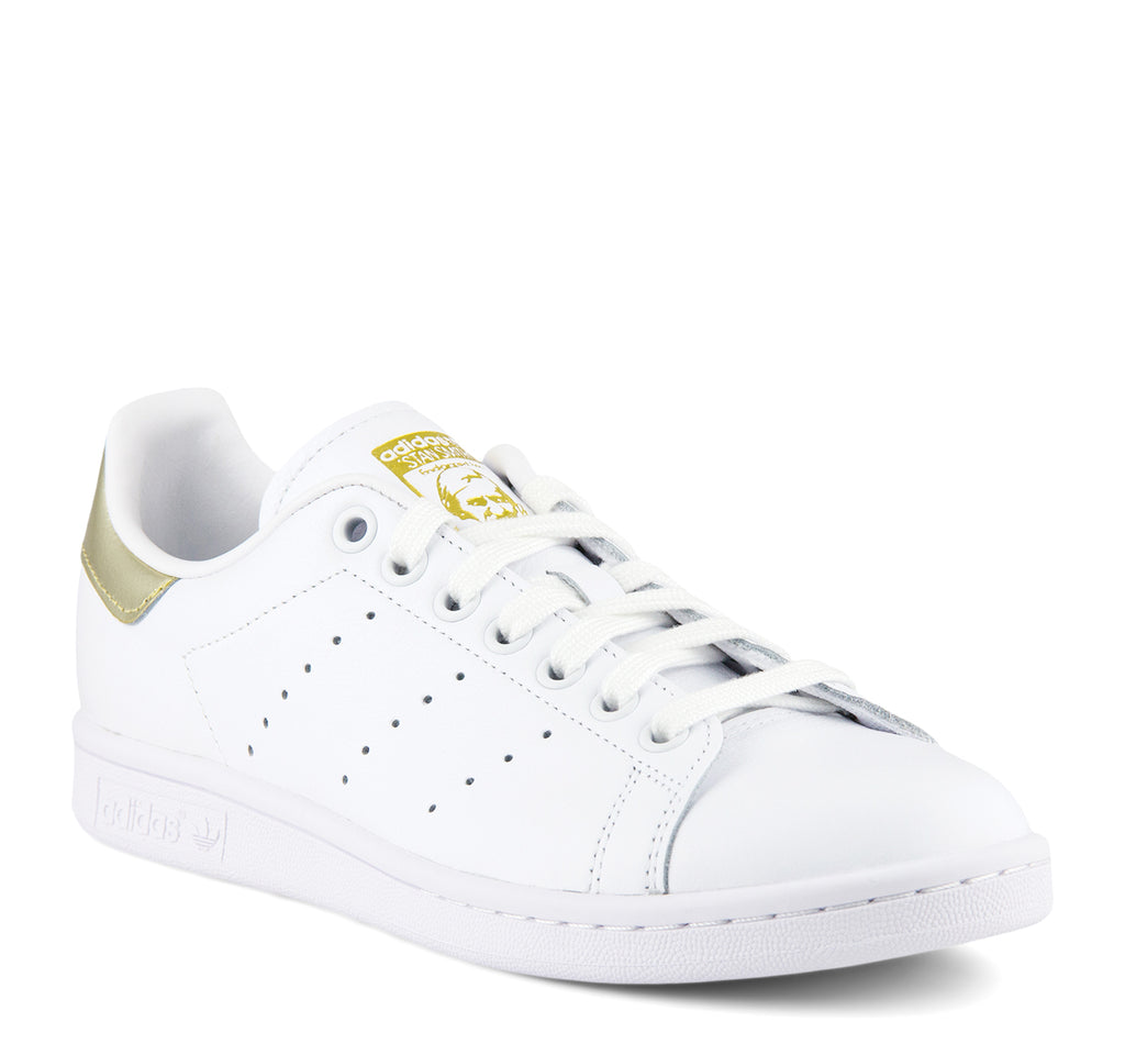 Adidas Stan Smith W EE8836 Women's Sneaker in White and Gold - Adidas - On The EDGE