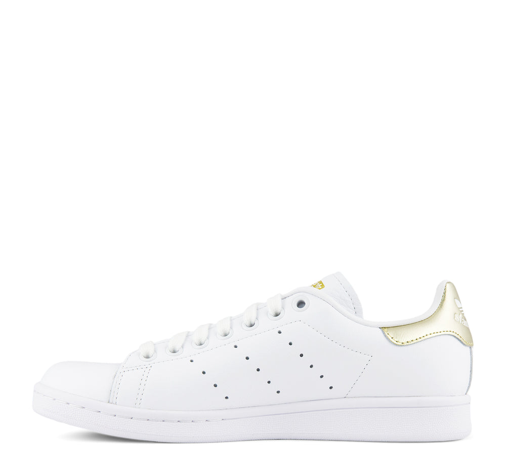 Adidas Stan Smith Women's EE8836 in White and Gold - Adidas - On The EDGE