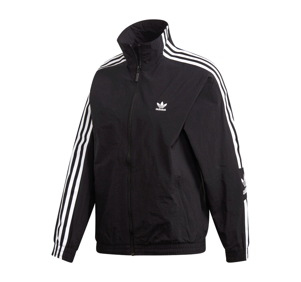 Adidas Track Jacket in Black - Adidas - On The EDGE
