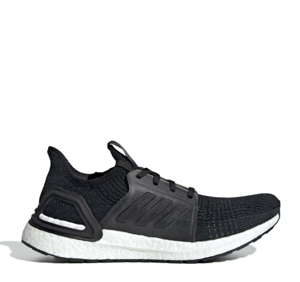 Adidas Ultraboost 19 M G54009 Sneaker in Black and White - Adidas - On The EDGE