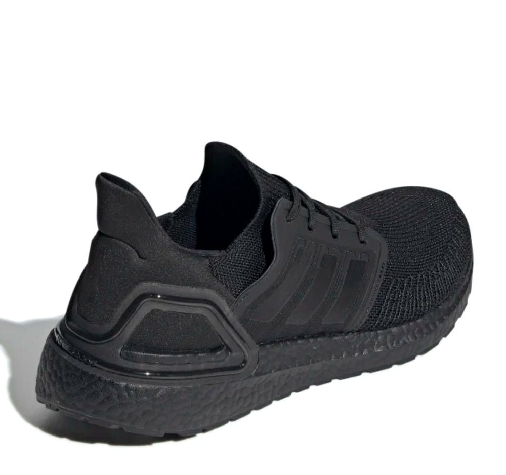 Adidas Ultraboost 20 M EG0691 Sneaker in Black, Black and Solar Red - Adidas - On The EDGE