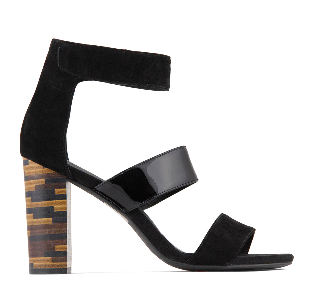 Jeffrey Campbell Adrena Ankle Strap Sandal - Jeffrey Campbell - On The EDGE