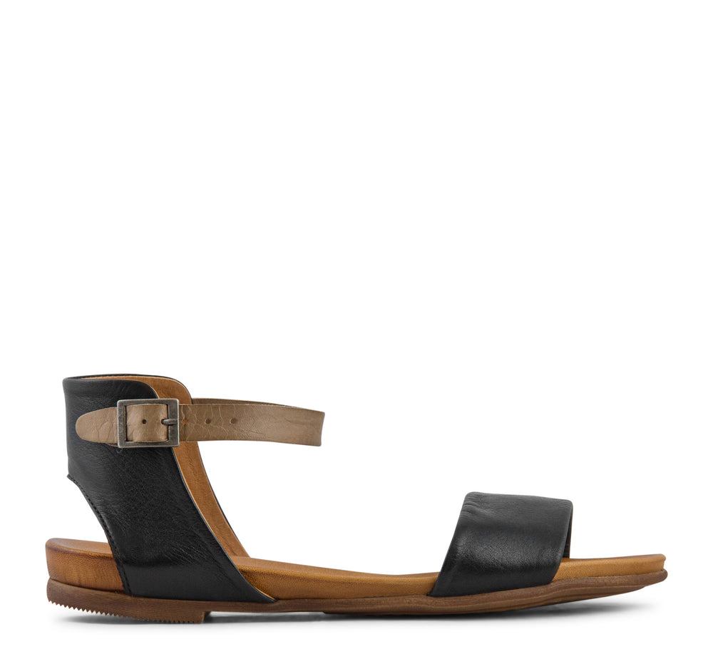 Miz Mooz Alanis Sandal in Black - Miz Mooz - On The EDGE