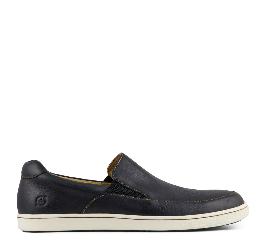 Born Aleksander Men's Sneaker in Black - Born - On The EDGE