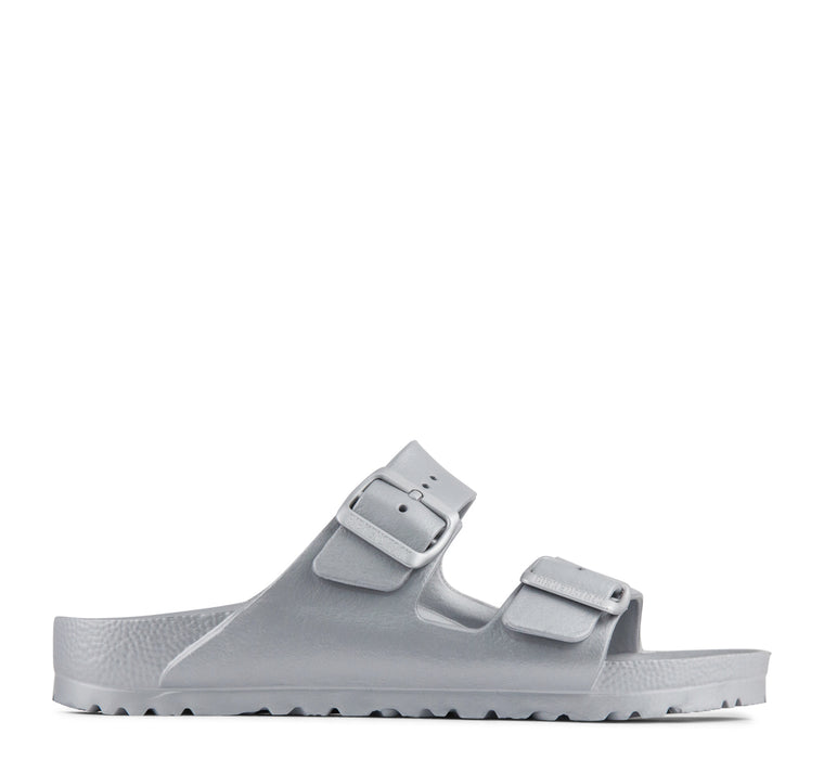 Birkenstock Arizona EVA Women's Sandal in Metallic Silver