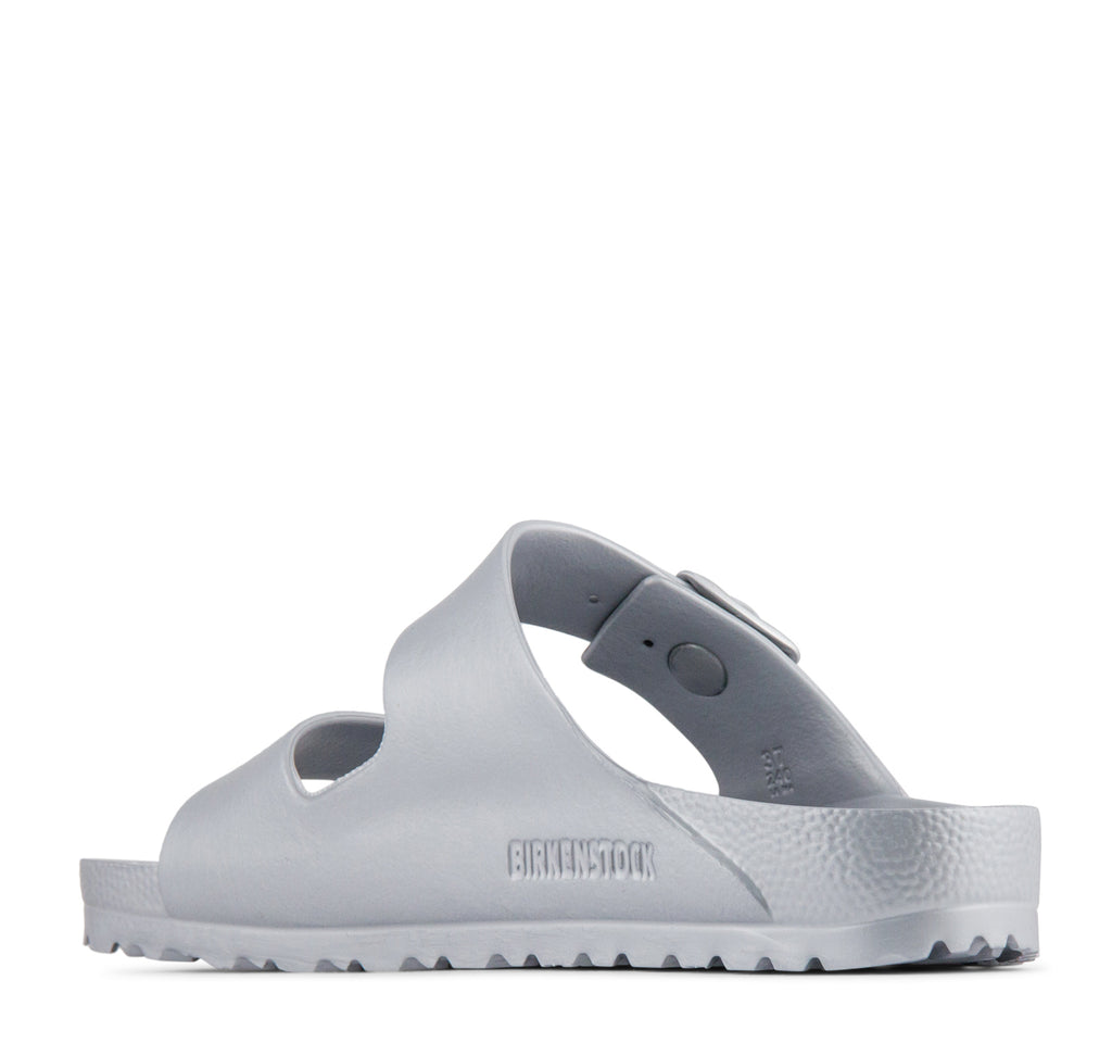 Birkenstock Arizona EVA Women's Sandal in Metallic Silver - Birkenstock - On The EDGE
