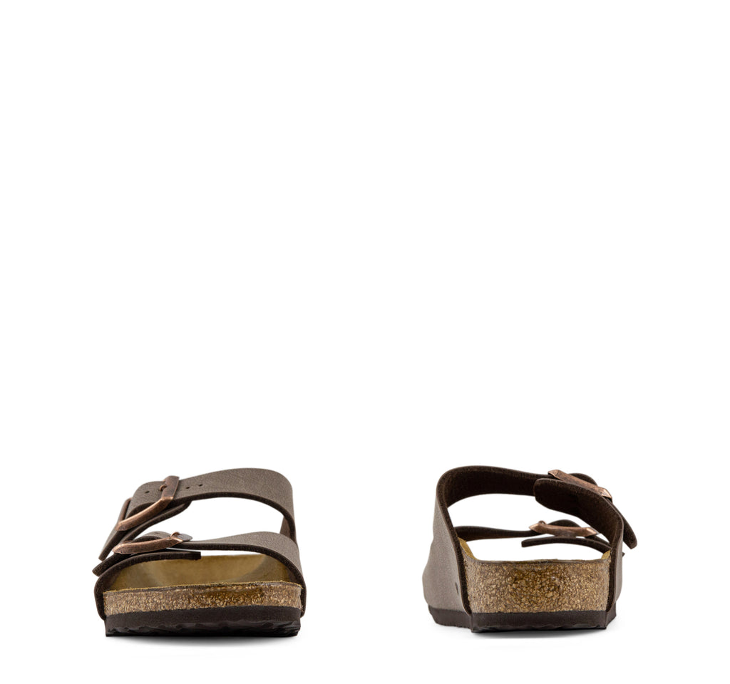 Birkenstock Arizona Birko-Flor Kids Sandal in Mocha - Birkenstock - On The EDGE