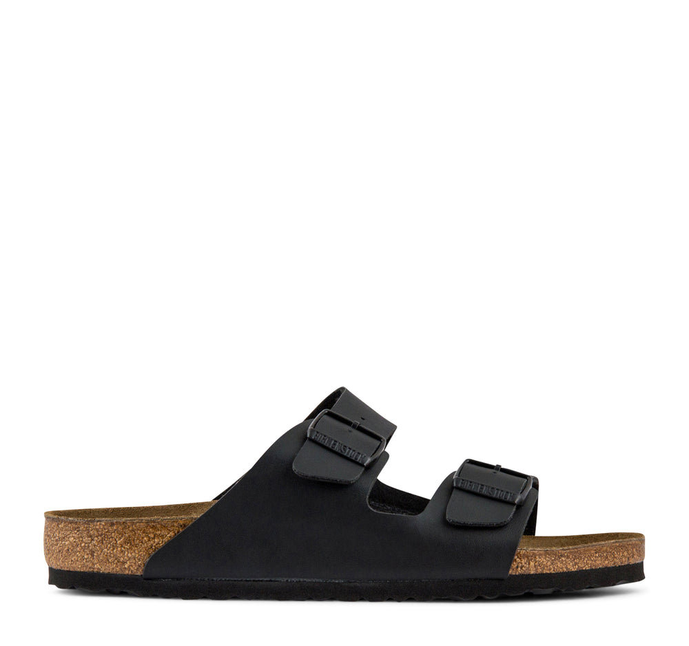 Birkenstock Arizona Birko-Flor Sandal in Black - Birkenstock - On The EDGE