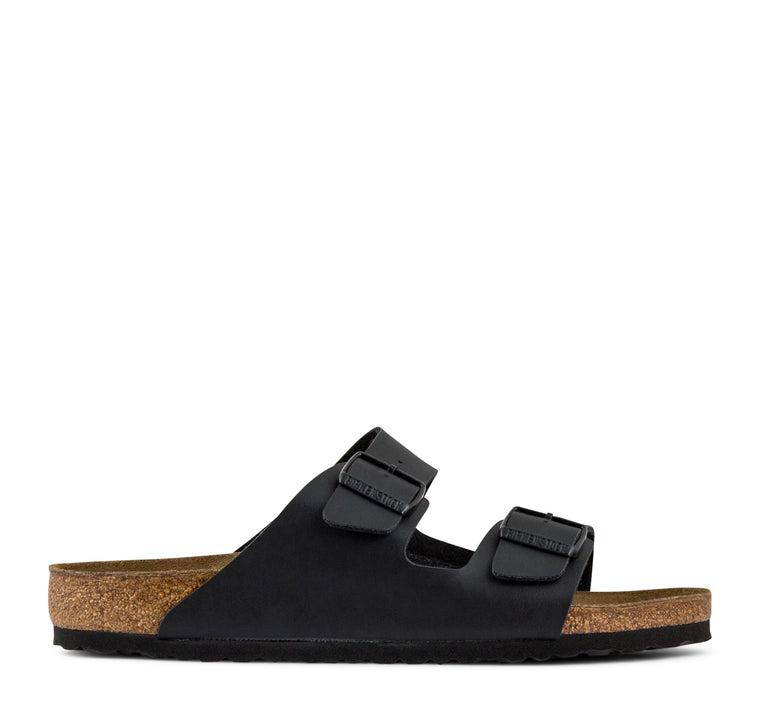 Birkenstock Arizona Narrow Birko-Flor Women's Sandal in Black