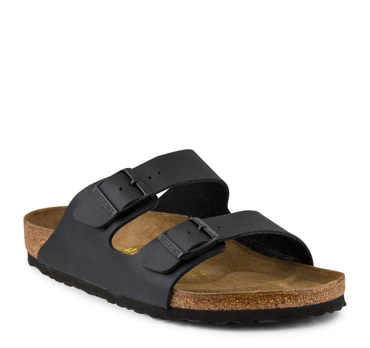 Birkenstock Arizona Narrow Birko-Flor Women's Sandal in Black - Birkenstock - On The EDGE