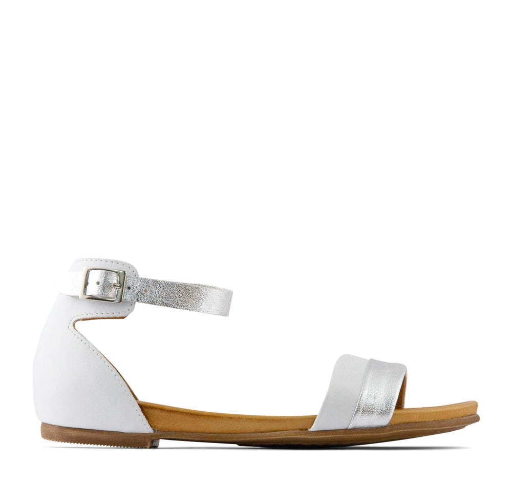 Miz Mooz Atlantic Women's Sandal in White - Miz Mooz - On The EDGE