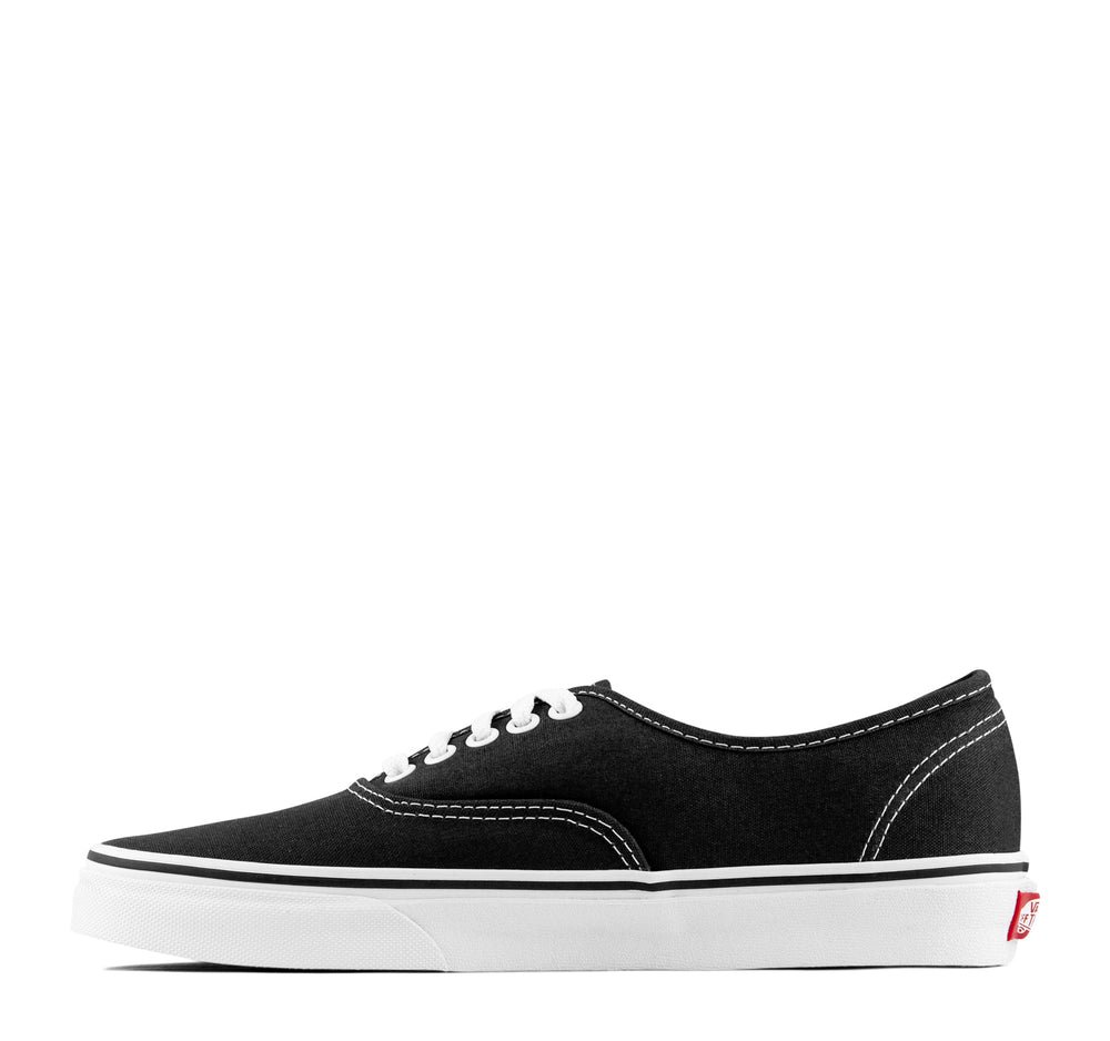 Vans Authentic Sneaker in Black - Vans - On The EDGE