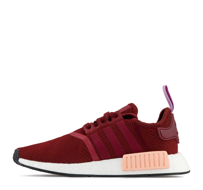 Adidas NMD R1 Women's Sneaker in Burgundy - Adidas - On The EDGE
