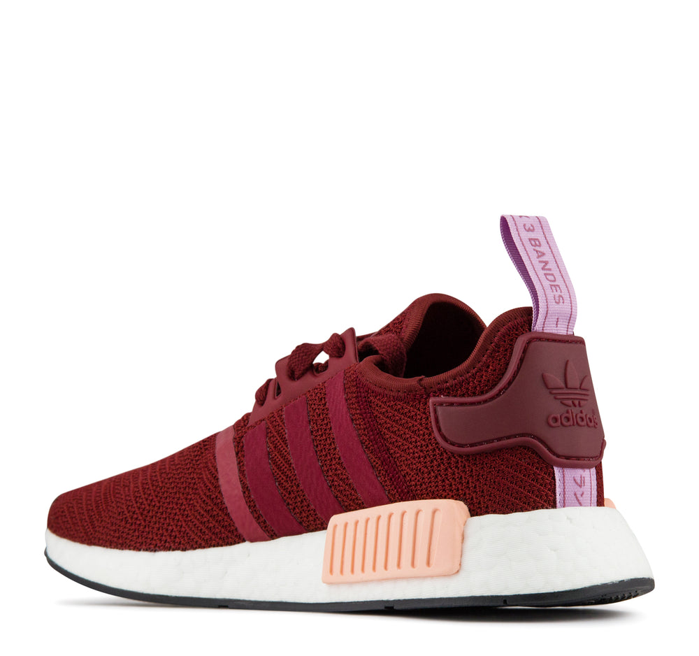 Adidas NMD R1 B37646 Women's Sneaker in Burgundy - Adidas - On The EDGE