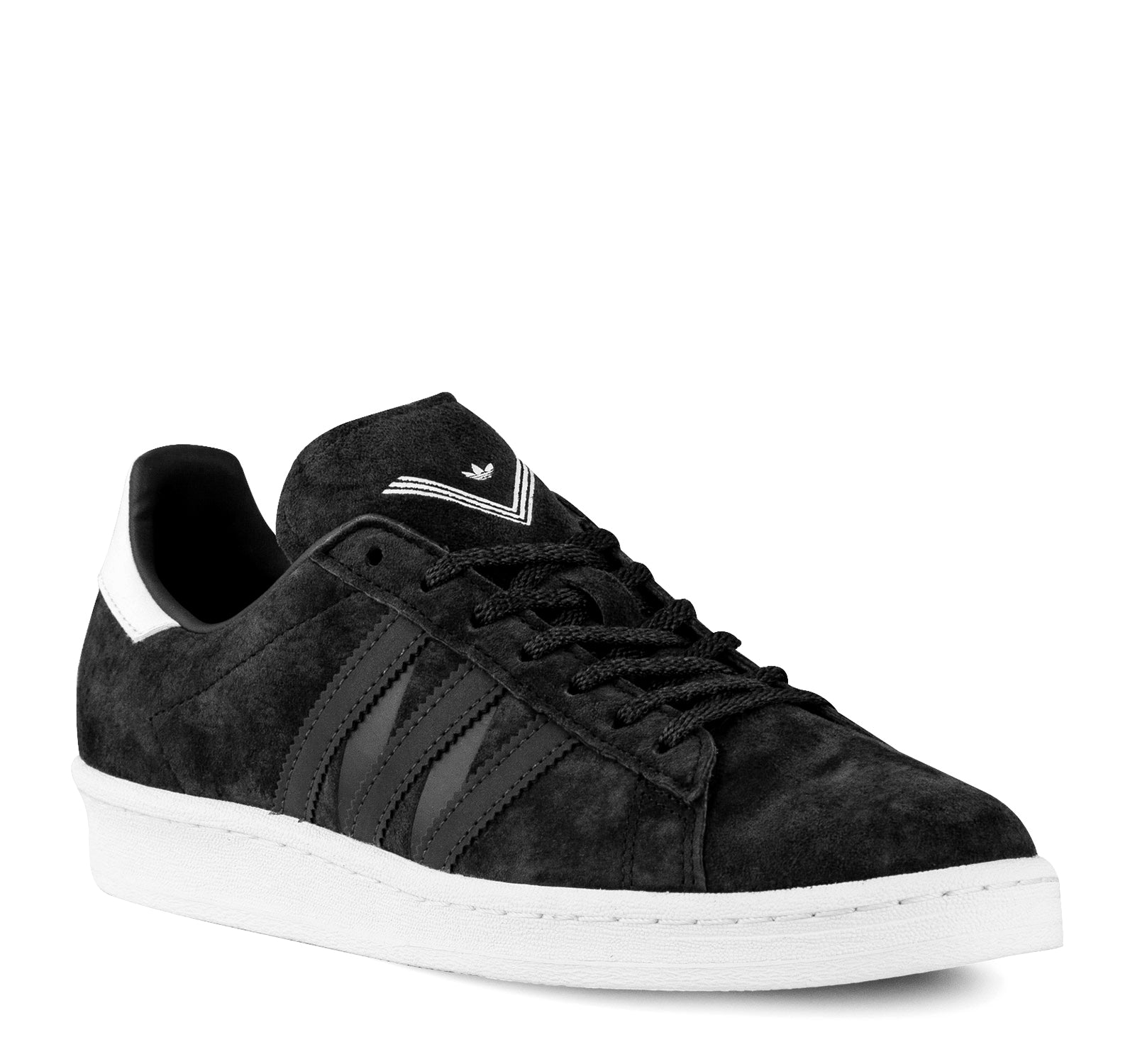 half off 8bc7d 29f42 ... Adidas White Mountaineering Campus 80s BA7516 Mens Sneaker in Black -  Adidas - On The EDGE ...
