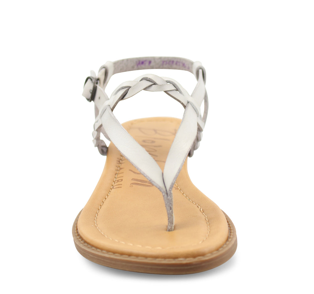 Blowfish Berg-B Sandal in Stone Grey - Blowfish Malibu - On The EDGE