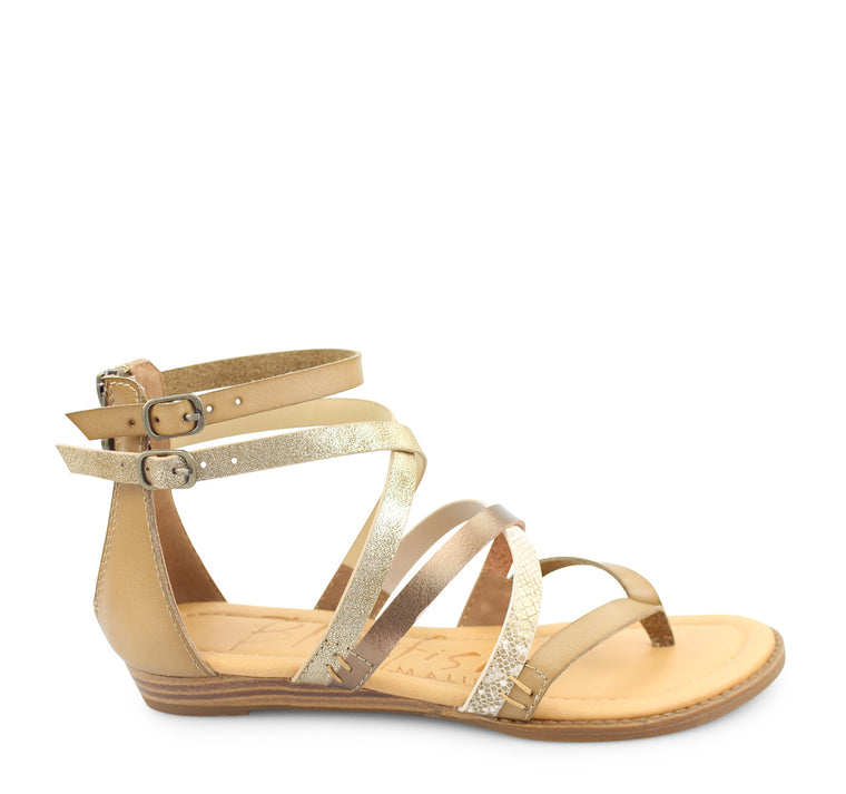 Blowfish Bungalow Women's Sandal in Sand Amber