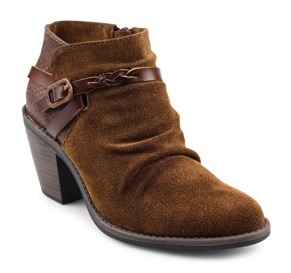 Blowfish Lama Boot in Rust and Whiskey - Blowfish Malibu - On The EDGE
