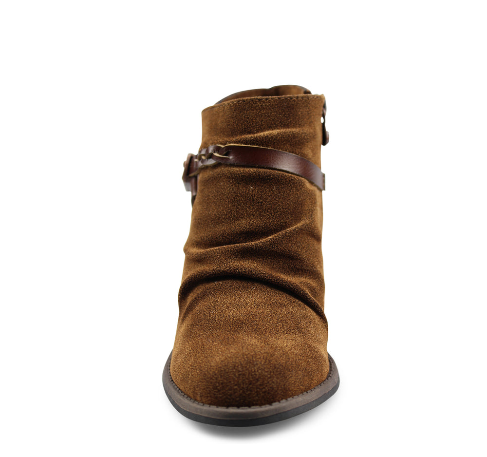 Blowfish Lama Boot in Rust and Whiskey