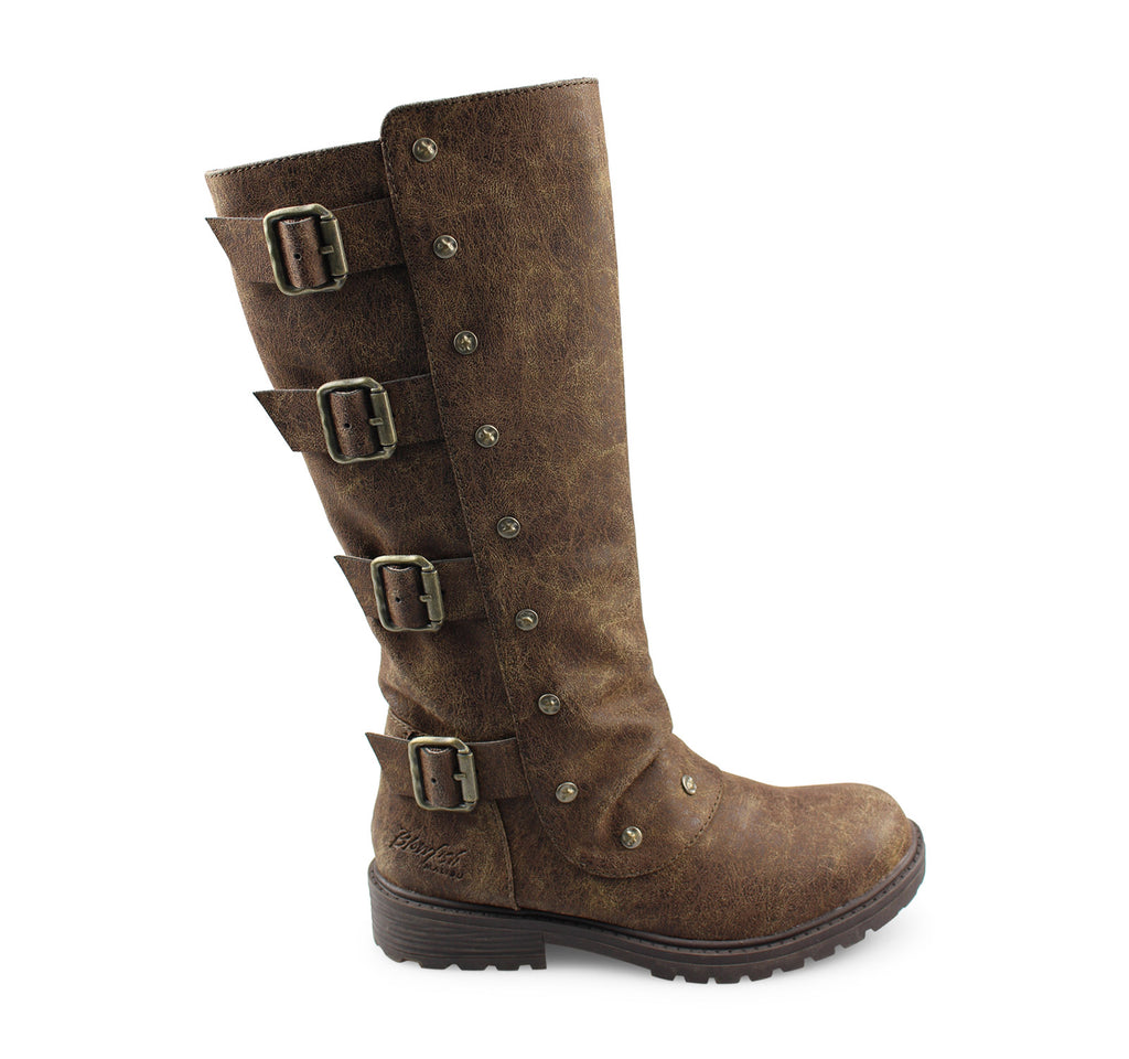 Blowfish Ruff Kids' Boot in Chocolate - Blowfish Malibu - On The EDGE