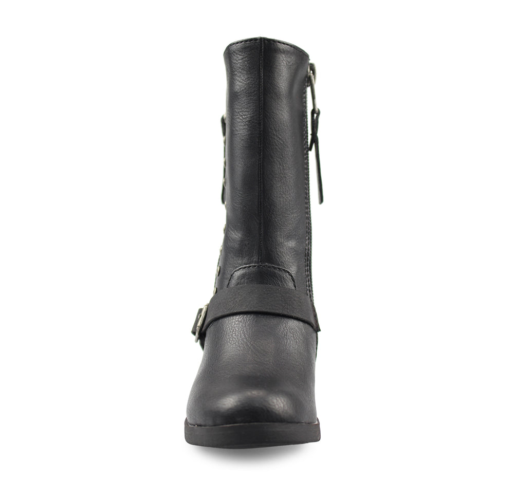 Blowfish Spicy Toddlers' Boot in Black Utah - Blowfish Malibu - On The EDGE