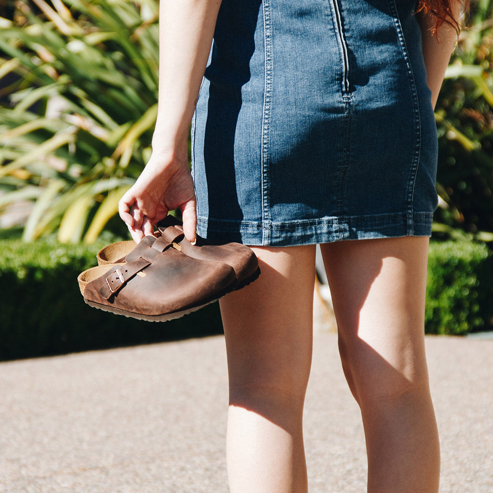 Birkenstock Boston Oiled Leather Clog - On The EDGE