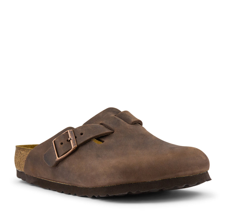 Birkenstock Boston Oiled Leather - Habana - Birkenstock - On The EDGE