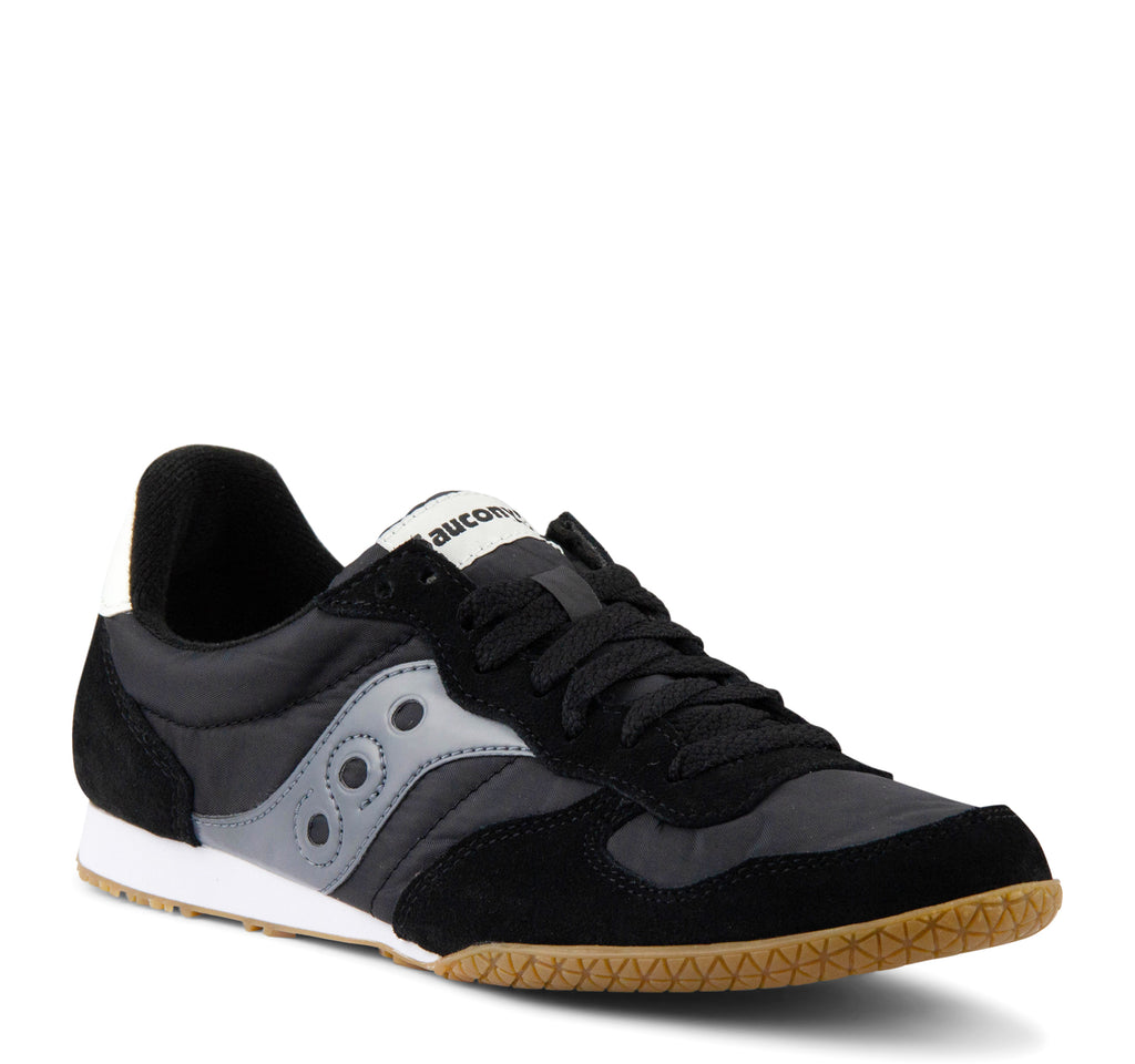 Saucony Bullet Men's Sneaker in Black and Gum