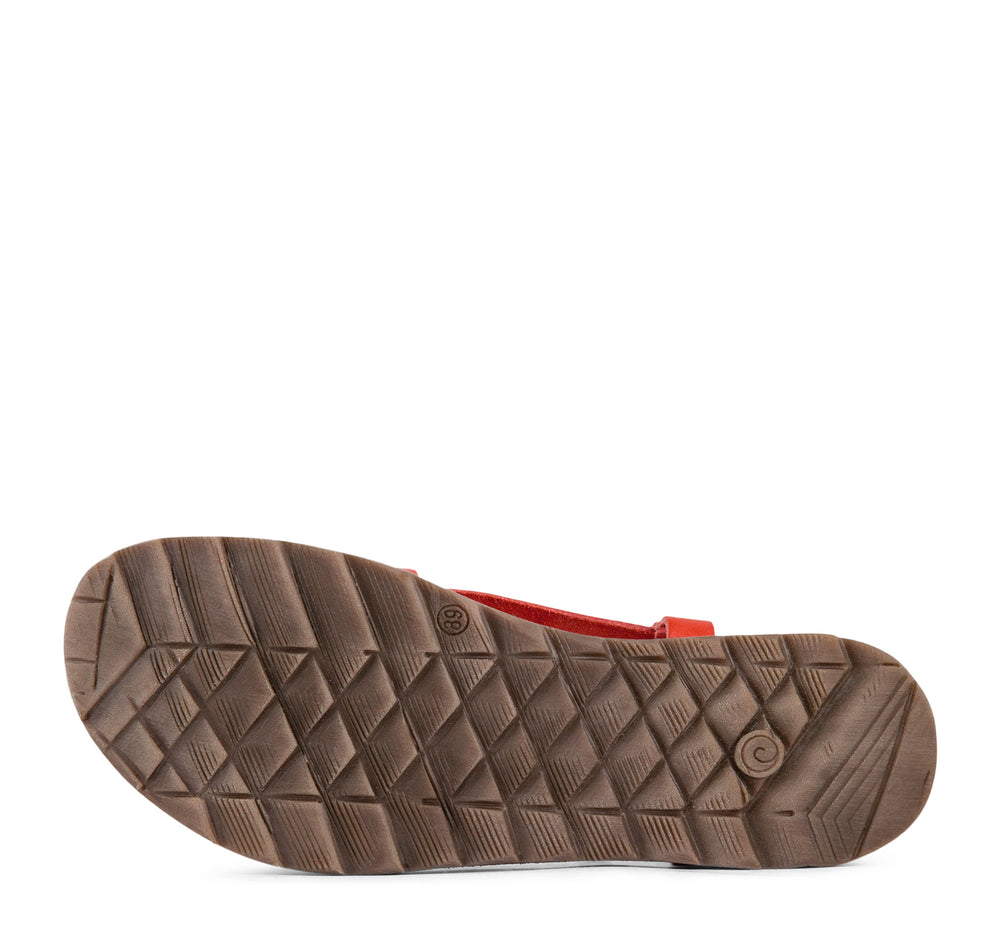 Khrio 3001 Calipso Women's Sandal in Red - Khrio - On The EDGE